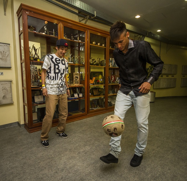Kotaro Tokuda and Neymar Santos Jr - Lifestyle