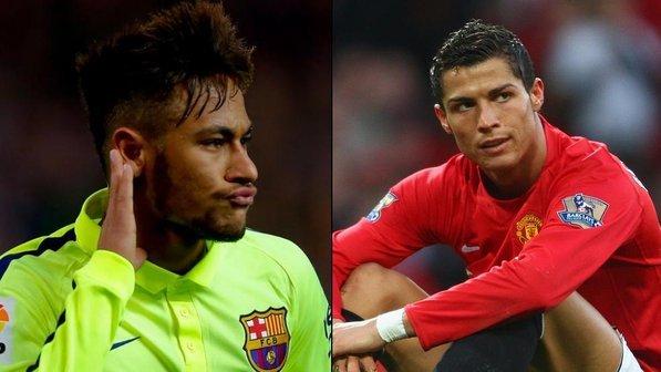 Neymar-e-Cristiano